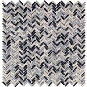 ECO SERIES tile, Hugh Herringbone by Soho Tiles