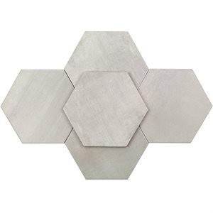 ELEMENTARY tile, Elementary Argent by Soho Tiles