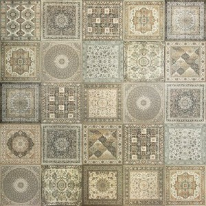 KILIM NAIN tile, NATURAL by Soho Tiles