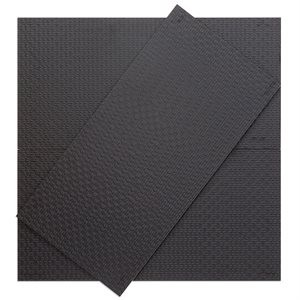 LUXE tile, Luxe Black Matte by Soho Tiles