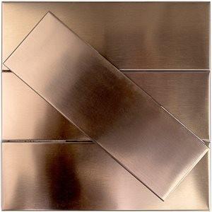 METAL tile, Copper by Soho Tiles