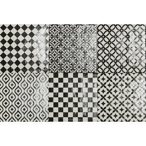 MODENA tile, Blanco Nero by Soho Tiles