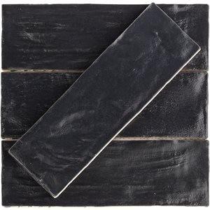 MYORKA tile, Black by Soho Tiles