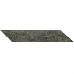 NOON tile, Chevron Natural Charcoal by Soho Tiles