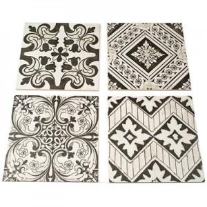 NOUVEAU tile, RANDOM GRAY NATURAL by Soho Tiles