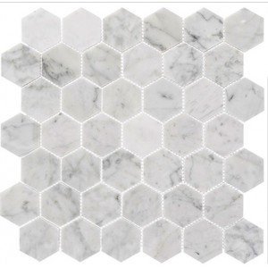Colonial Series, Captains Manor hex glass tile