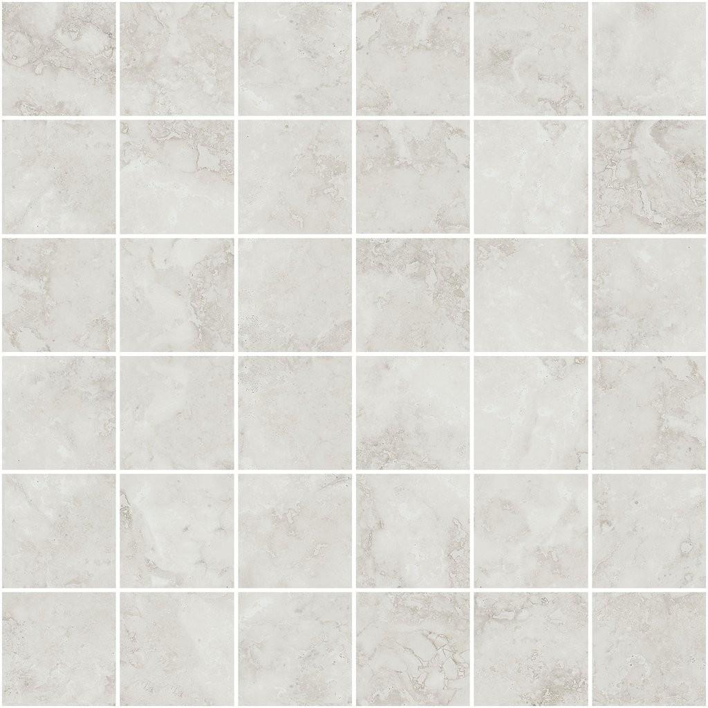 Navona White Mosaic