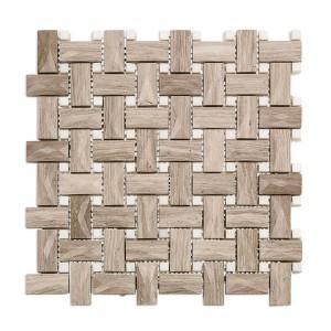 DIMENSION WEAVE marble tile