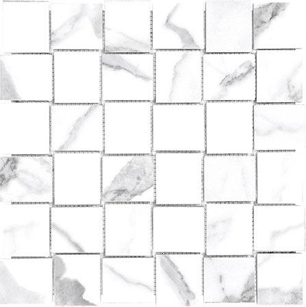 Statuario Venato Mosaic