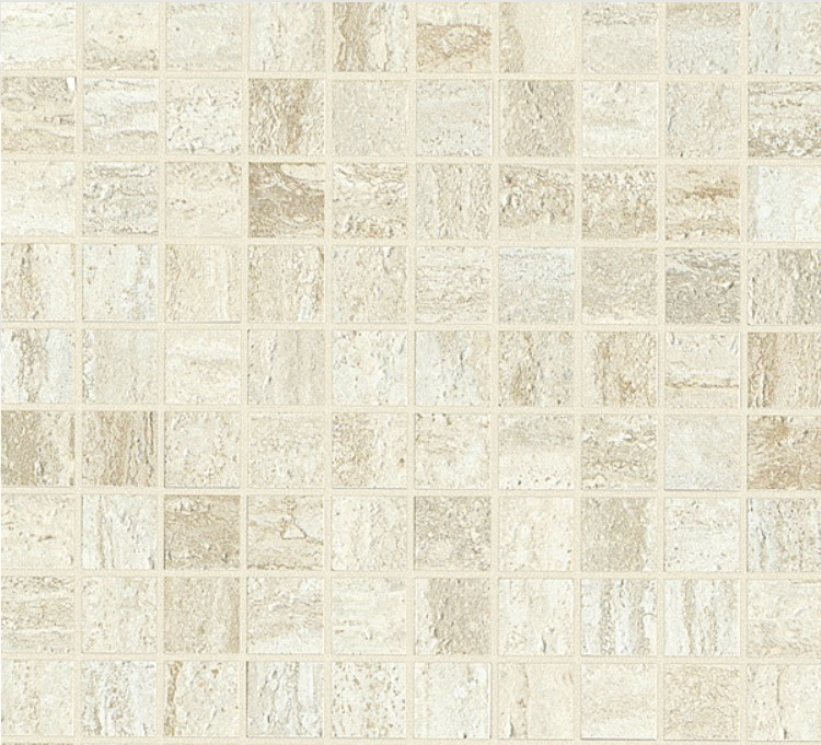 Pearl satin mosaico
