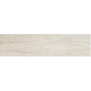 Easy Wood, White porcelain tile