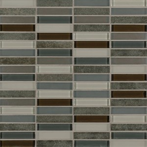 Ebb and Flow mosaic tile