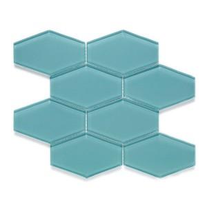 Elongated Hex Mosaic mosaic tile