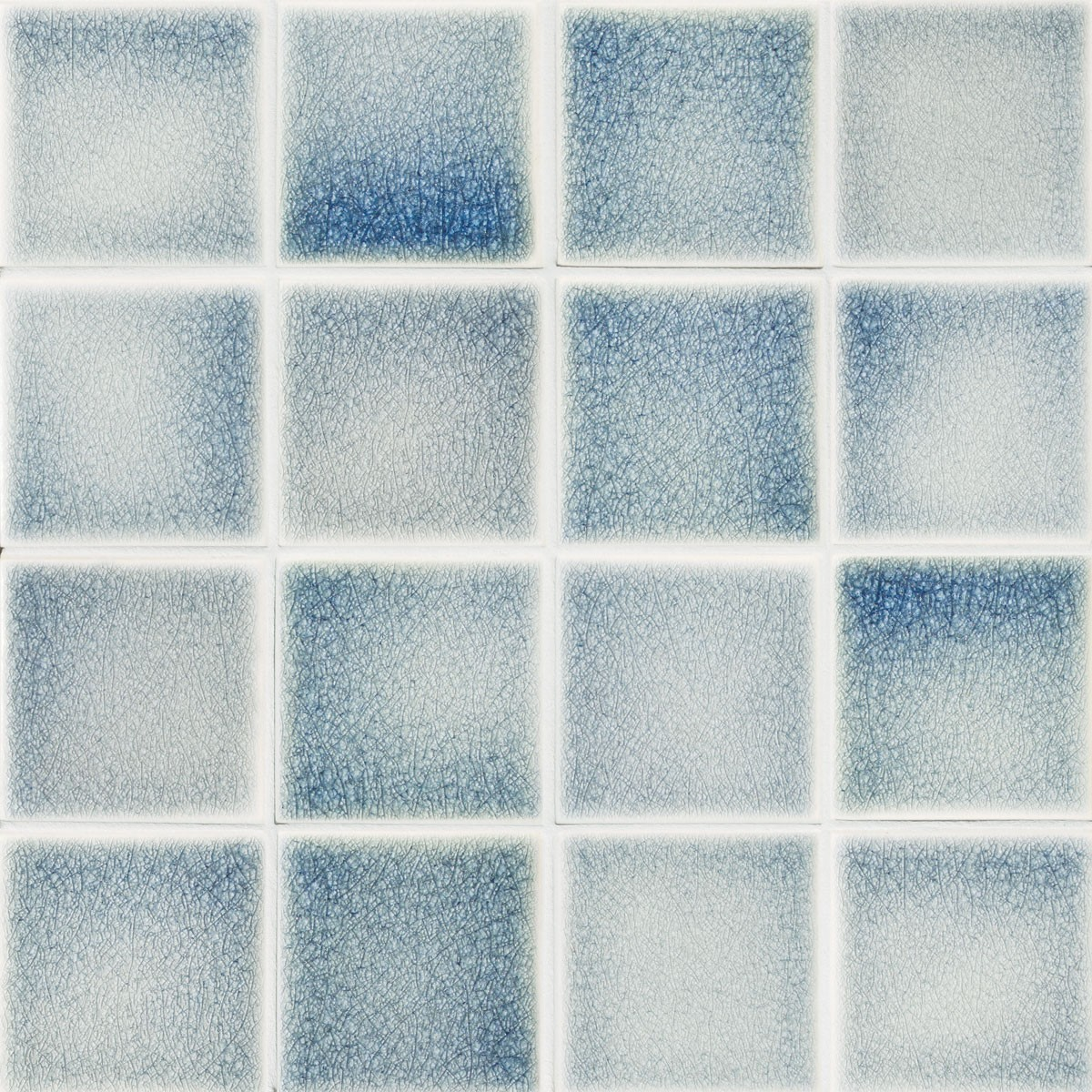 Where to buy Crackle glazes Mosaic tiles. Encore Ceramics.