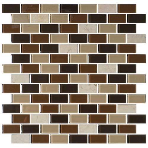 Desert Dune 3/4 x 1 1/2 Brick-joint Mosaic BP94