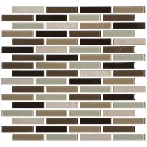 Zen Escape 5/8 x 3 Brick-joint Mosaic BP96