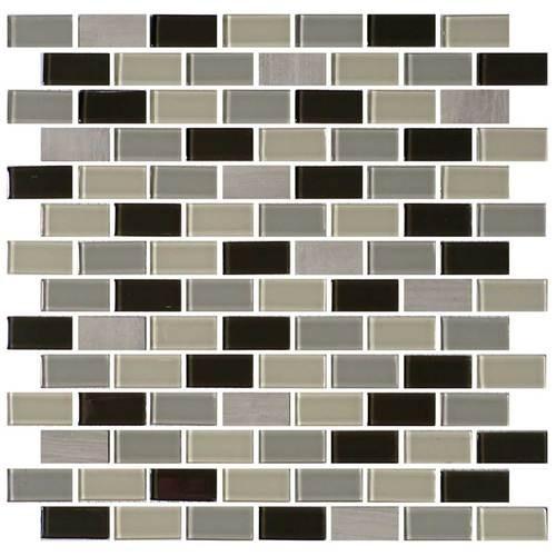 Evening Sky 3/4 x 1 1/2 Brick-joint Mosaic BP97