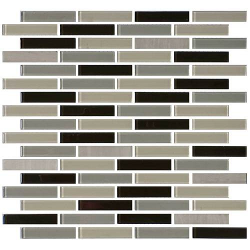 Evening Sky 5/8 x 3 Brick-joint Mosaic BP97