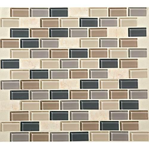 Skyline 3/4 x 1 1/2 Brick-joint Mosaic BP99