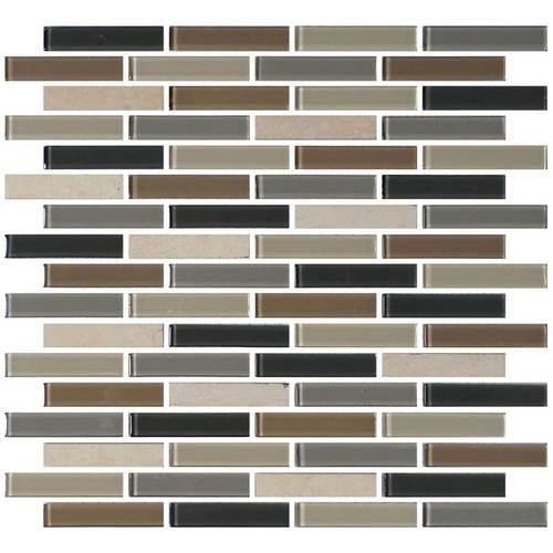 Skyline 5/8 x 3 Brick-joint Mosaic BP99