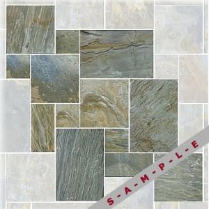 Shiba Pattern slate tile